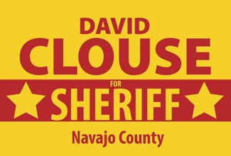 Sheriff David Clouse election sign