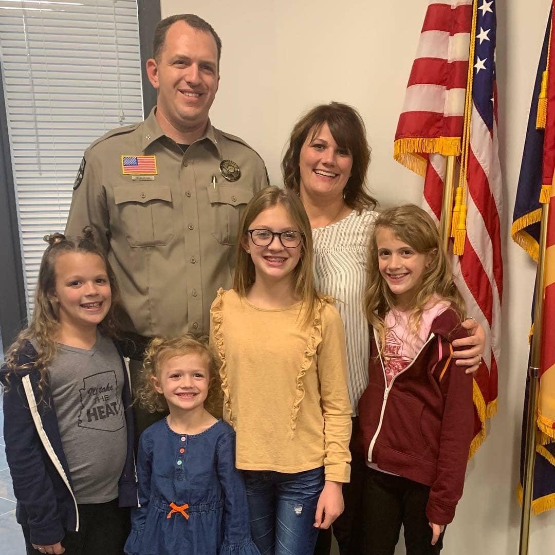 Sheriff Clouse Family Photo