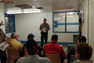 Sheriff Clouse opens new veterans area in county jail